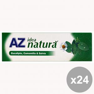 Set 12 AZ dentifricio idea natura eucalipto-camom.-salvia 75 ml. prodotti per il viso