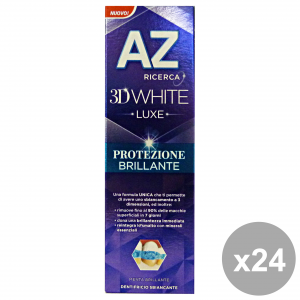 Set 24 Az Toothpaste 3d Luxe Protection Brilliant 75 Ml Products For The Face