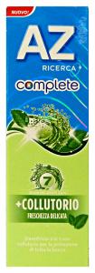 Az Toothpaste Complete + Mouthwash Fresch.delicata 75 Ml - Toothpaste