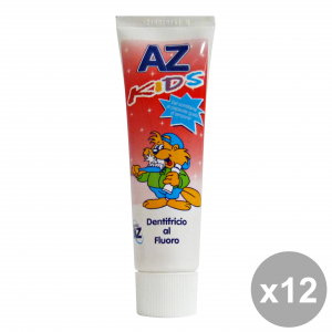 Set 12 Az Toothpaste Kids Al Fluor 50 Ml Products For The Face