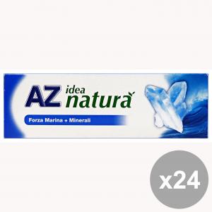 Set 24 AZ DENTIFRICE Idée Nature MARINA + MINÉRAUX 75 ml Produits Pour le Visage