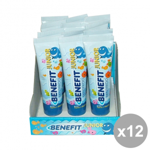 Set 12 BENEFIT Dentifricio JUNIOR 50 Ml. Prodotti per il viso