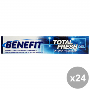 Set 24 BENEFIT Dentifricio 75 Ml. TOTAL Fresh Gel Prodotti per il viso