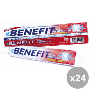 Set 24 BENEFIT Dentifricio 75 Ml. TOTAL PROTECTION Prodotti per il viso