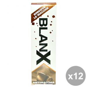 Set 12 BLANX Dentifricio AntiMACCHIA 75 Ml. Prodotti per il viso