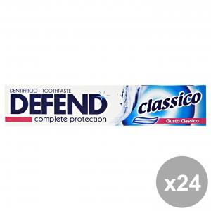 Set 24 DEFEND Dentifrice Classique 75 ml Produits Pour le Visage