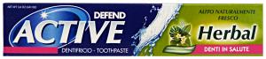 DEFEND Dent.active herbal 75 ml. - Dentifricio