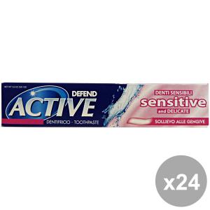 Set 24 DEFEND Dentifricio ACTIVE Sensitive 75 Ml. Prodotti per il viso