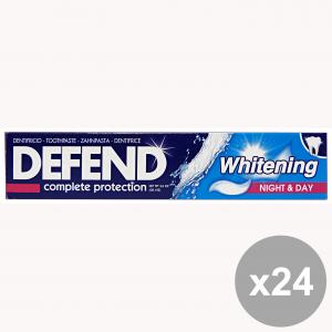 Set 24 DEFEND Dentifricio WHITENING 75 Ml. Prodotti per il viso