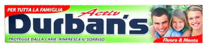 DURBAN'S Dentifricio activ 75 ml. - Dentifricio