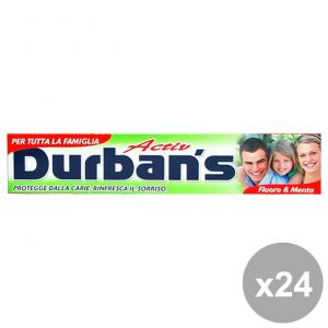 Set 24 DURBAN'S Dentifricio ACTIV 75 Ml. Prodotti per il viso
