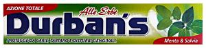 DURBAN'S Toothpaste Herbs Mint / sage 75 ml - Toothpastes