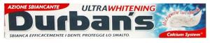 DURBAN'S Dentifricio whitening 75 ml. - Dentifricio
