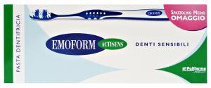 EMOFORM Sensitive teeth + spazzolino - Toothpaste