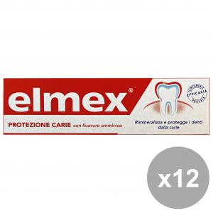 Set 12 ELMEX Dentifricio Protezione CARIE 50 Ml.  Prodotti per il viso