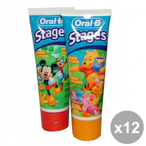 Set 12 Oral-b Toothpaste Disney Fruit 75 Ml Products For The Face