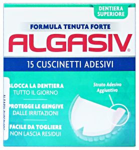 Algasiv Bearings ​​stickers Superior For Dentures 15 Pieces