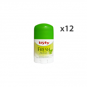 Set 12 Byly Deodorant Stick Fresh Body Care