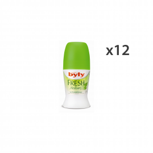 Set 12 Byly Deodorant Roll-on Fresh Body Care