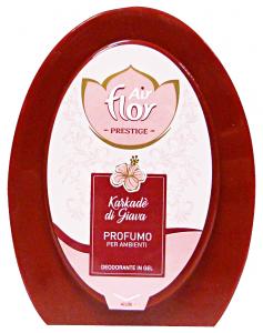 AIR FLOR Assorbiodori Gel Karkade'Di Giava 150 Gr Deodorante Profumatore Ambiente