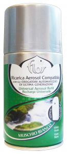 AIR FLOR Ricarica 250 Ml Muschio Bianco Deodorante Profumatore Ambiente
