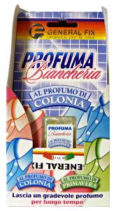 GENERAL FIX Profuma Biancheria Colonia Profumo Per Armadio