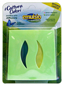 EMULSIO Cattura Odori Diffusore Base Candele e Profumatori