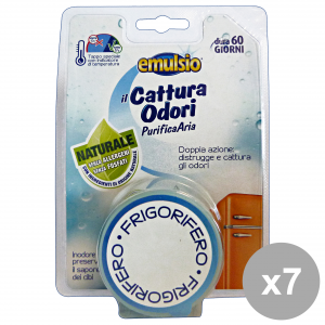 Set 7 Emulsio Capture Odors Fridge Deodorants Candles And Perfumers