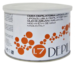 DEPILIA Wax Jar of argan oil 400 ml - Depilatories