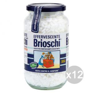 Set 12 BRIOSCHI Digestivo Vaso 250 Gr Cosmetica