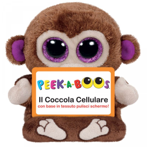 TY Peek A Boos Chimps Animale Peluches Giocattolo 107