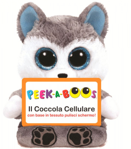 TY Peek A Boos Scout Cane Peluches Giocattolo 390