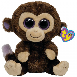 TY Beanie Boos 15Cm Coconut Animale Peluches Giocattolo 495