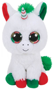 TY Beanie Boos 28Cm Candy Cane Unicorno Animale Peluches Giocattolo 671