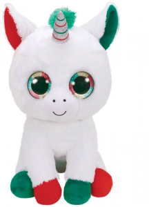 TY Beanie Boos 42Cm Candy Cane Unicorno Animale Peluches Giocattolo 487