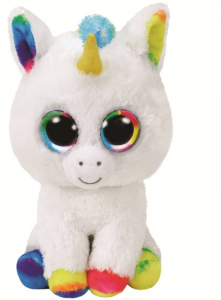 TY Beanie Boos 15Cm Pixy Animale Peluches Giocattolo 604