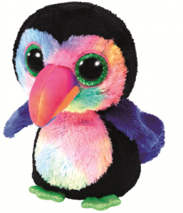 TY Beanie Boos 15Cm Beaks Uccello Volatile Peluches Giocattolo 835