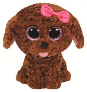 TY Beanie Boos 28Cm Maddie Animale Peluches Giocattolo 864