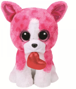 TY Beanie Boos 28Cm Romeo Cane Peluches Giocattolo 833