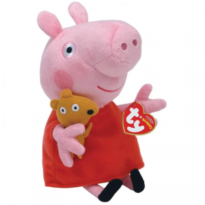 TY Peppa Pig 20 Cm Animale Peluches Giocattolo 443