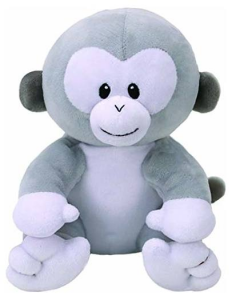 TY Baby 28Cm Pookie Scimmia Animale Bosco Peluches Giocattolo 425