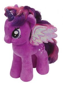 TY Mlp Twilight Sparkle 28Cm Animale Peluches Giocattolo 956