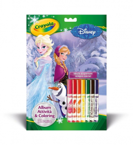 CRAYOLA Album Attivita' & Coloring Disney Frozen Iva Assolta Pvp 4,90 Album Da 237
