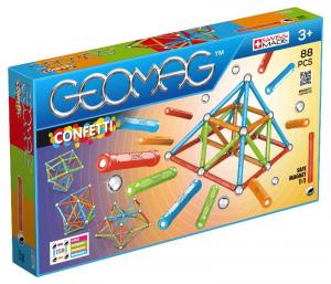 GEOMAG Geomag Confetti 88 Pcs Costruzioni Gioco Bambino Bambina Giocattolo 186