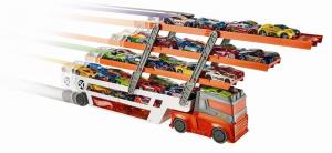 MATTEL Hot Wheels Mega Track Hauler Coches Juegos masculino bebé de juguete 218