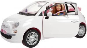 MATTEL Con Fiat 500 Muñeca Barbie Muñeca Set de juego accesorio incluido 411