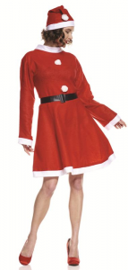 APITALIA Mrs. Claus Costume Santa Claus M - Accessories And Clothes Gift 507