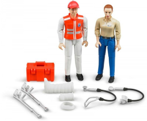 BRUDER Personaggi Con Accessori Ambulanza Personaggi Playsethili Gioco 633