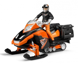 Bruder Snowmobile With Figure And Accessories Half Snow Game Bimbo Male Child 387