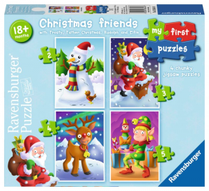 Ravensburger My First Puzzle 2 3 4 5 Spare Friends Christmas Puzzle Toy 104
